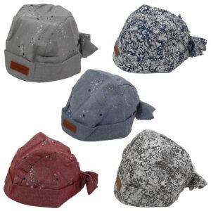 Μπαντάνα-Καπέλο Βρεφική Βαμβακερή Unisex