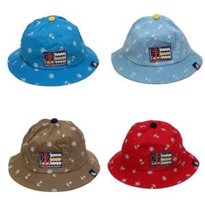 Καπέλο Παιδικό Κώνος Με Σχέδιο Άγκυρες