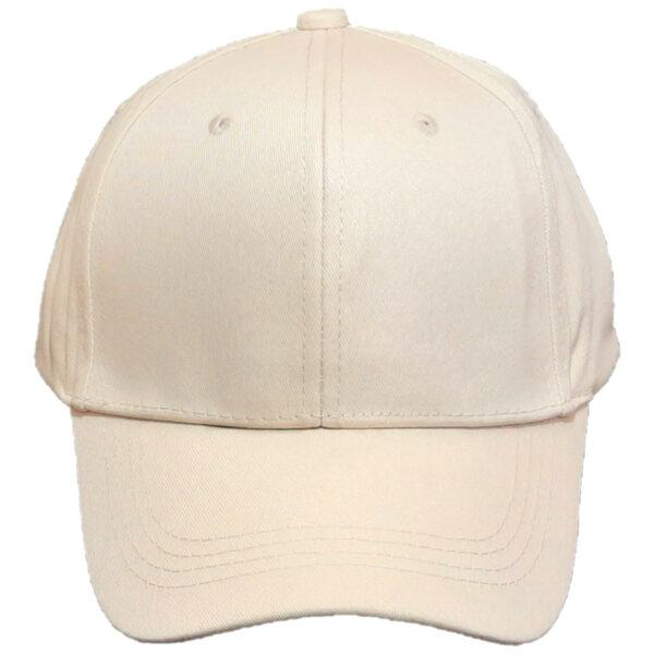 Καπέλο Τζόκεϊ Μονόχρωμο Βαμβακερό Unisex