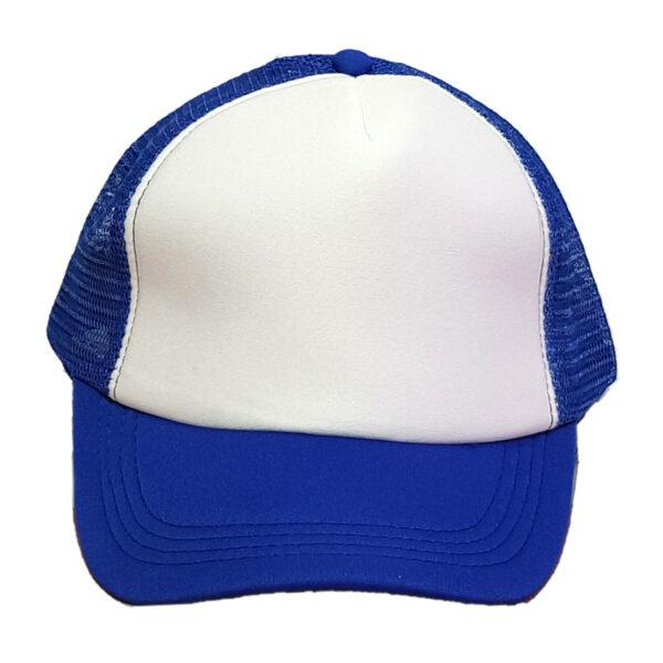 Καπέλο Τζόκεϊ Δίχρωμο Snapback Τύπου Trucker