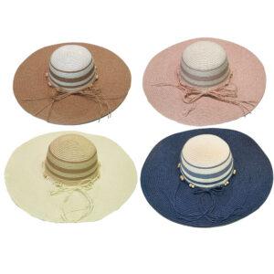 Γυναικείο Καπέλο Με Πλατύ Γείσο