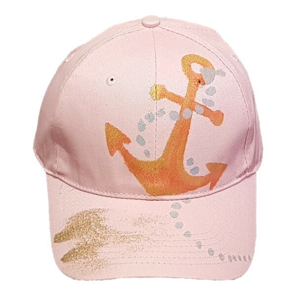 Καπέλο Τζόκεϊ Ζωγραφιστό Άγκυρα