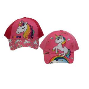 Καπέλο Τζόκεϊ Παιδικό Για Κορίτσι Με Μονόκερος