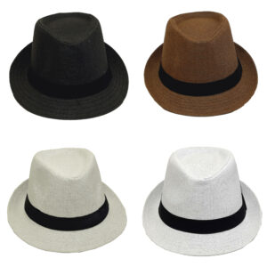 Ψάθινο Καπέλο Καβουράκι Με Κορδέλα