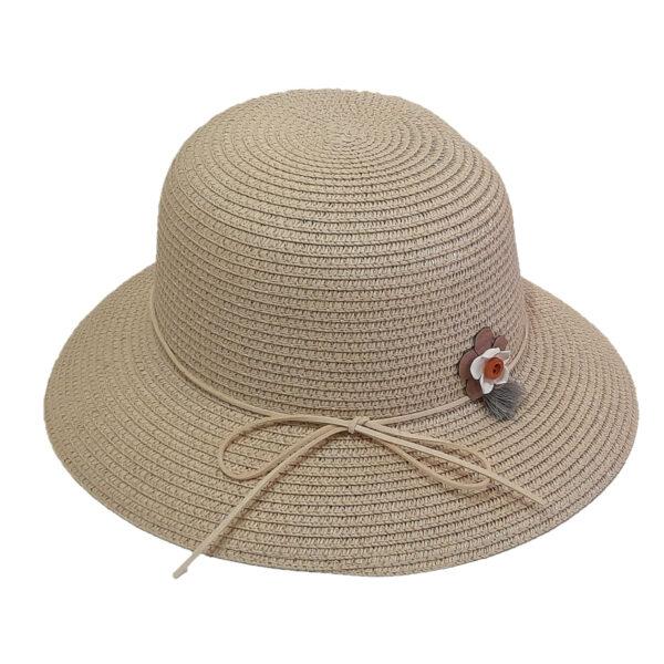 Καπέλο Ψάθινο Για Κορίτσι Με Κορδέλα