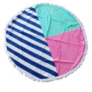 στρογγυλή βαμβακερή πετσέτα microfiber- πετσέτα μικροϊνών βαμβακερή στρογγυλή