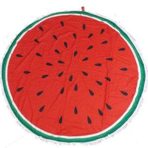 Πετσέτες Θαλάσσης στρογγυλές σχέδιο καρπούζι: MG Eshop