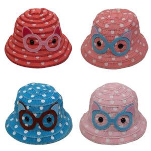 Καπέλο Παιδικό Κώνος Με Σχέδιο Κουκουβάγια