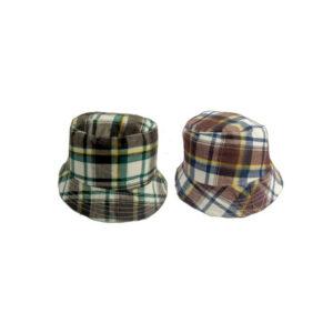 Καπέλο Παιδικό Κώνος Καρό Υφασμάτινος