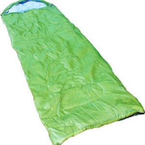 sleping bag green