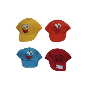 Καπέλο Τζόκεϊ Παιδικό Με Στάμπα Φατσούλες