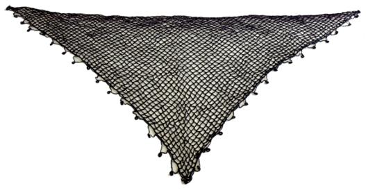 Μαύρο Κρητικό Μαντήλι- Κρητικό Σαρίκι