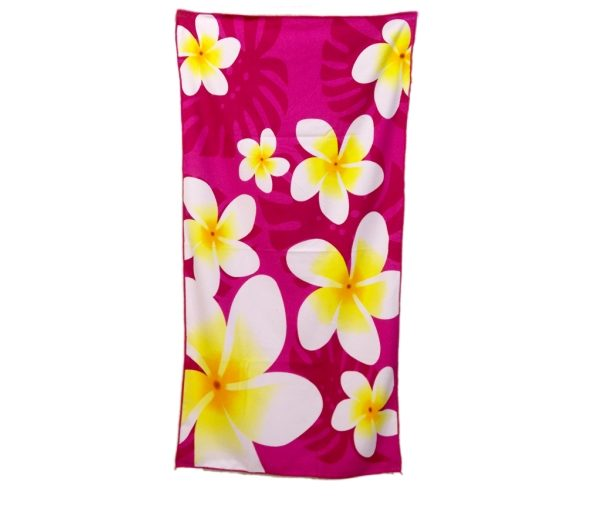 Πετσέτα με λουλούδι
