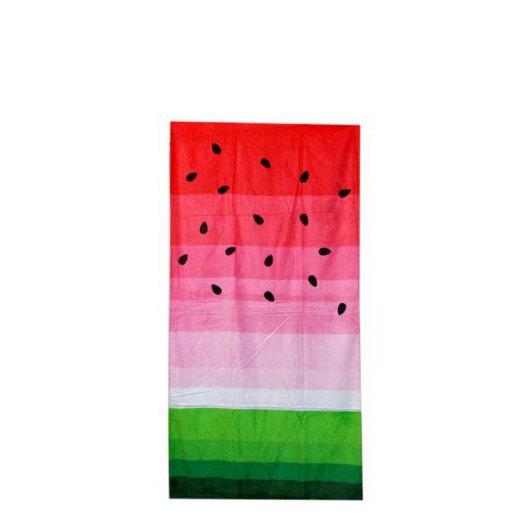 Πετσέτα θαλάσσης με σχέδιο καρπούζι