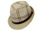 Aνδρικό ψάθινο καπέλο